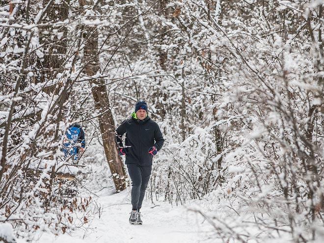 Здоровый образ жизни. Почему бегать в мороз приятно и полезно