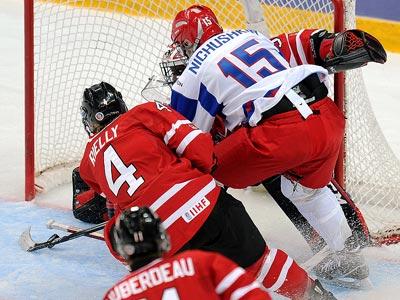 Сборная России выиграла бронзовые медали МЧМ