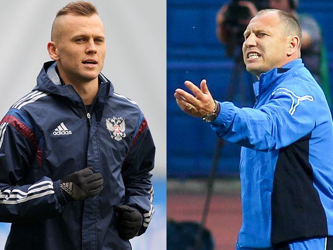 Денис Черышев и Дмитрий Черышев
