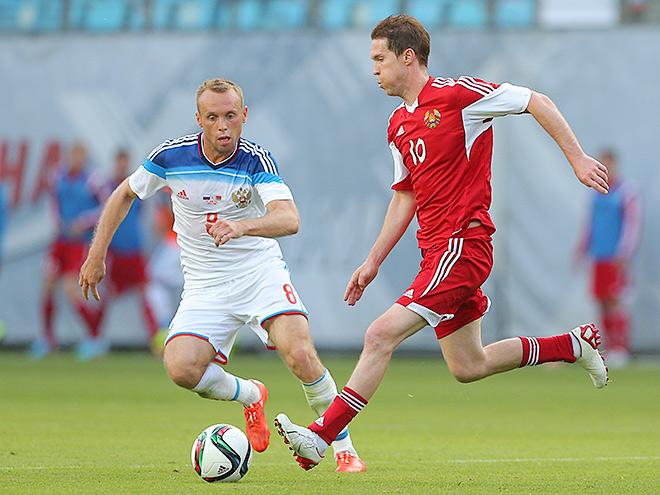 Денис Глушаков и Александр Глеб