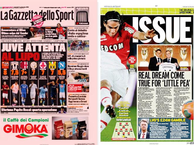 Фалькао, Кучук, сборная Германии – в обзоре прессы