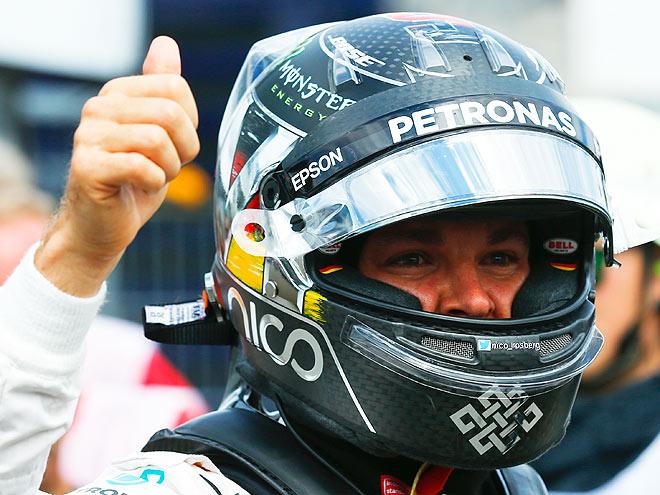 Нико Росберг выиграл квалификацию Гран-при Германии Формулы-1