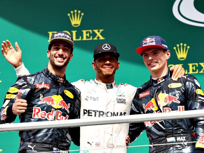 Оценки пилотам за первую половину сезона-2016 Формулы-1: лидеры