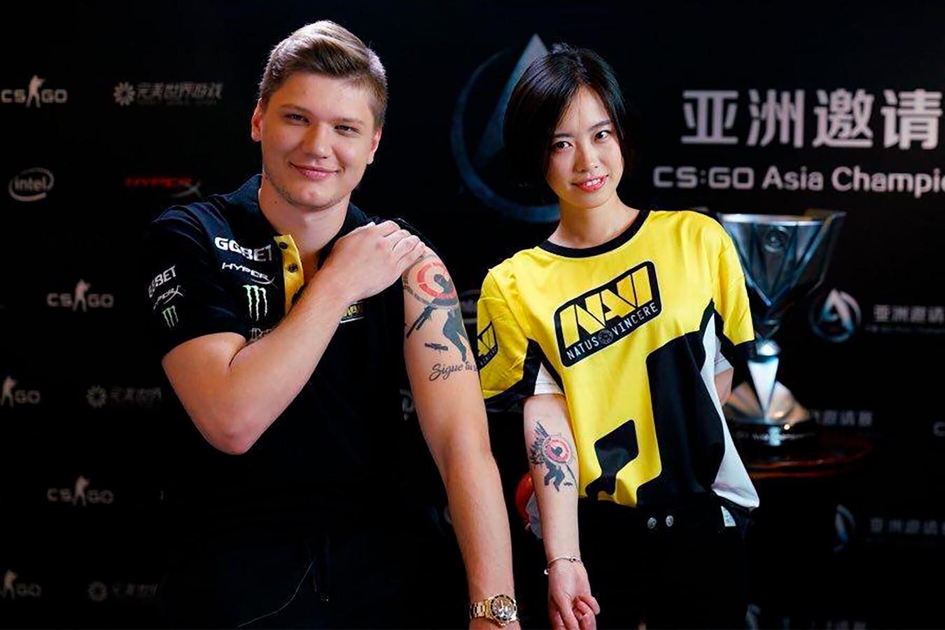 Татуировки киберспортсменов и аналитиков