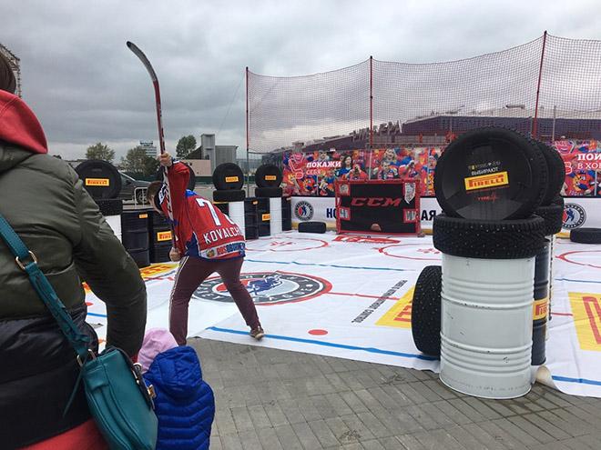 Матч открытия нового сезона Ночной хоккейной лиги: видеообращение Путина