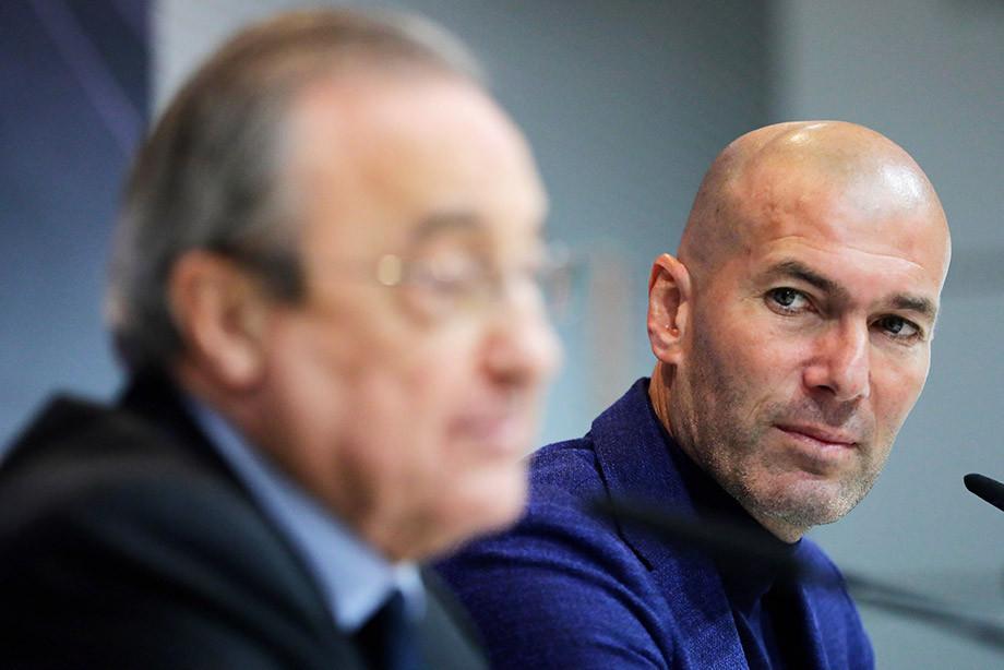 Зидана всё-таки уговорили вернуться в Мадрид. Как это произошло