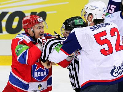 В третьей игре ЦСКА проявил характер и выиграл у СКА