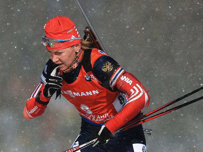 Женская сборная России без медалей эстафеты