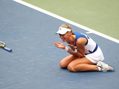 Олимпийская чемпионка-2008 Елена Дементьева