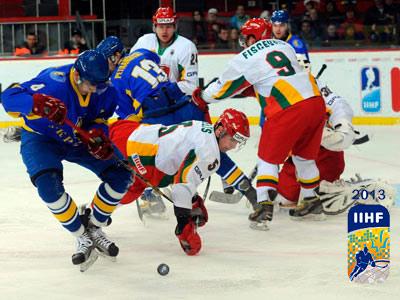 ЧМ по хоккею в Донецке: день третий
