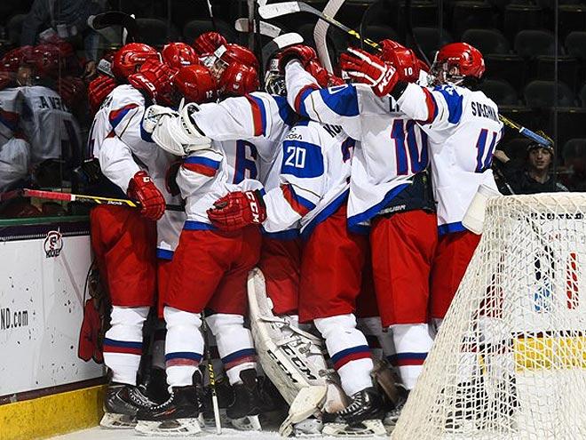 ЮЧМ. Россия – Латвия – 7:0. 18 апреля 2016 года. Отчёт матча, фото, видео