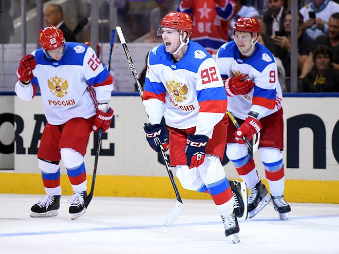 Россия – Северная Америка – 4:3 – обзор матча Кубка мира по хоккею – 2016