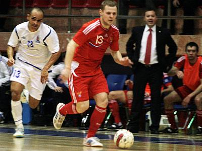 Мини-футбольная сборная России не без труда пробилась на ЧМ-2012