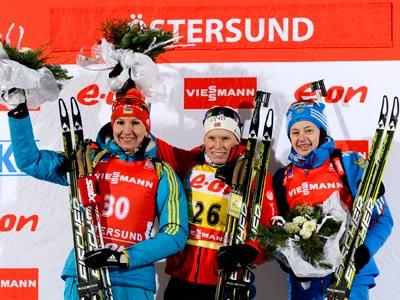 Ольга Вилухина – третья в спринте
