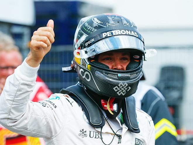 Формула-1. Нико Росберг выиграл квалификацию Гран-при Бельгии