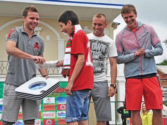 Роман Шишкин организовал детский футбольный турнир