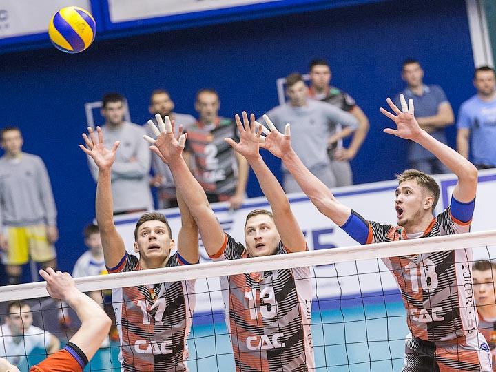 Волейбол. «Кузбасс» обыграл «Газпром-Югра» в плей-офф Суперлиги
