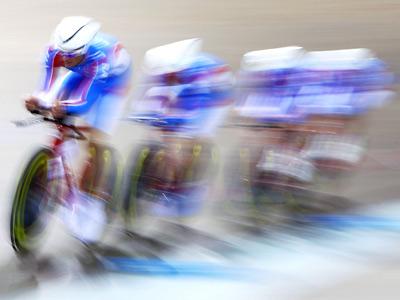 Сборная России по велоспорту на треке
