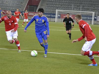 Украина (U-21) обыграла на выезде Швейцарию (U-21)