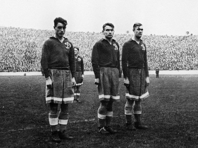 1945 – год, когда «Динамо» играло с «Арсеналом», «Челси» и «Рейнджерс»