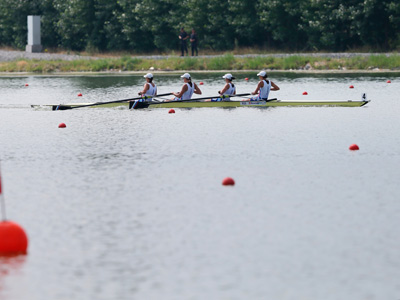 Российская четверка выиграла серебро ЧМ