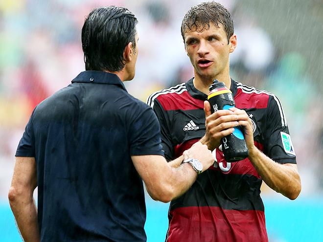 Роль молодёжи в игре сборной Германии