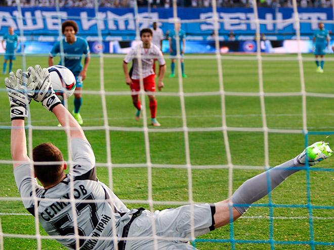 Лучшие сейвы 9-го тура Премьер-Лиги