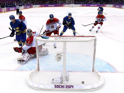 Сочи-2014. Хоккей. Швеция - Чехия - 4:2
