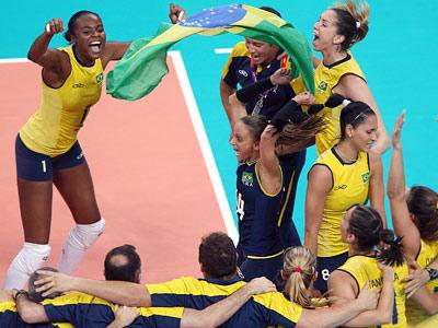 Лондон-2012. Волейбол. Бразилия выиграла женский турнир