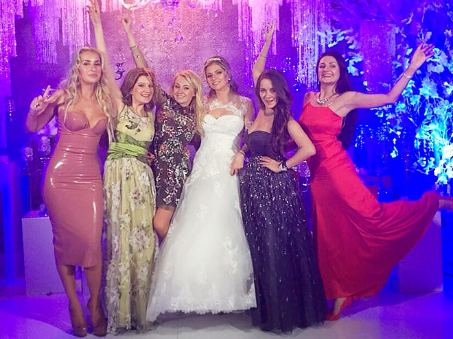 Свадьба Марии Кириленко