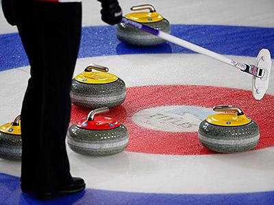 Олимпиада в Сочи. Изготовление льда в кёрлинге