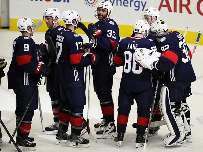Сборная США на Кубке мира по хоккею — 2016