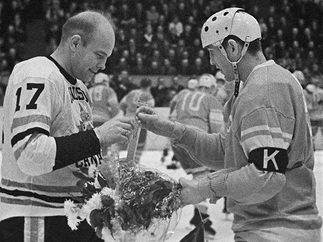Всё золото нашего хоккея. Чемпионат мира – 1963