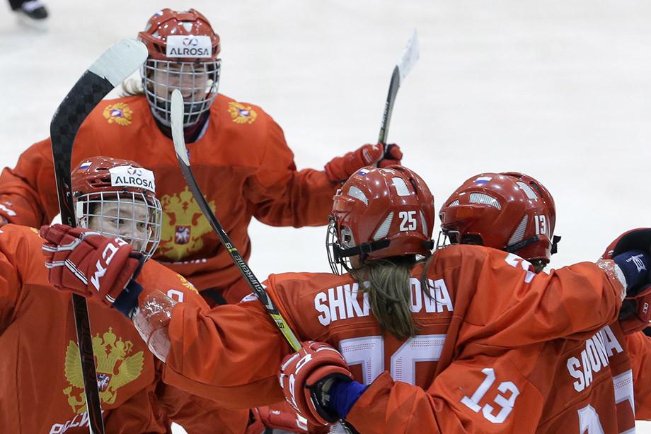 Женская молодёжная сборная России — Хоккей