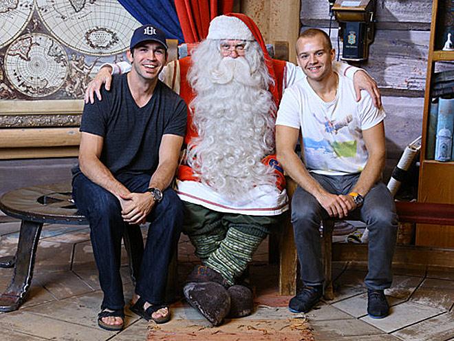 Кевин Лаланд, Санта Клаус и Стефан Да Коста