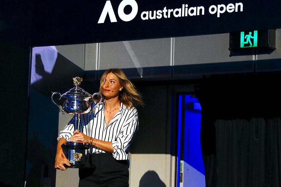 Шарапова сыграет сМарией впервом круге Australian Open