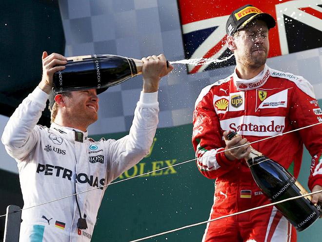 Нико Росберг выиграл Гран-при Австралии Формулы-1