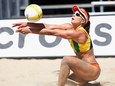 Спаренные атлетика и плавание и два волейбола
