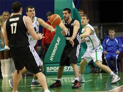 Киевский «Будивельник» в овертайме победил «Нижний Новгород»