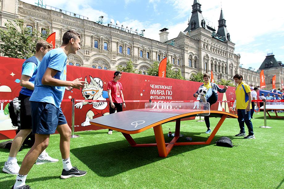 c22daf0680d5 ЧМ-2018. Открытие Парка футбола FIFA на Красной площади. Фото ...