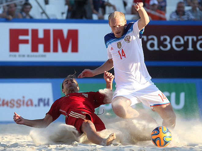 Пляжный футбол. Трансляция матча Россия - Испания