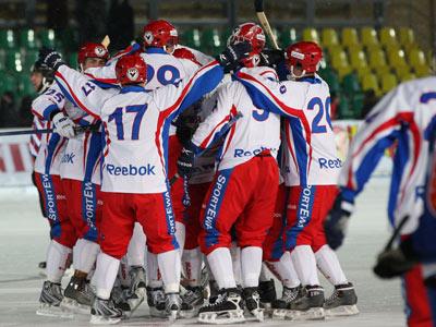 Хоккей с мячом. Россия обыграла Белоруссию на ЧМ