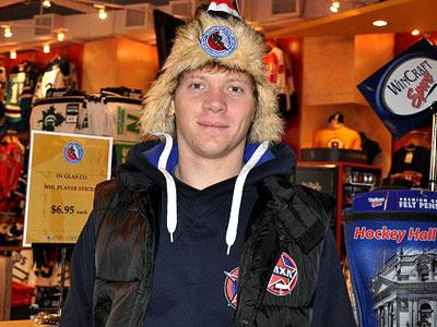 Ярослав Альшевский - лучший нападающий сезона ВХЛ
