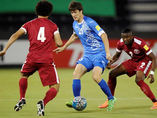 Что надо знать о нападающем сборной Узбекистана Эльдоре Шомурадове