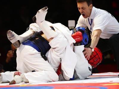 Интервью абсолютного чемпиона мира по карате Тариела Николеишвили