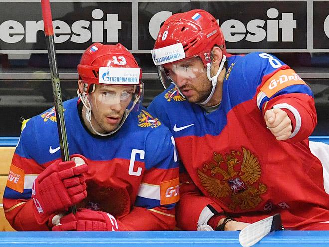 Сборная России готовится к матчу с Канадой перед Кубком мира