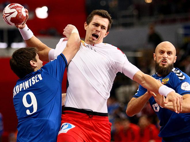 Россия уступила Дании на ЧМ по гандболу