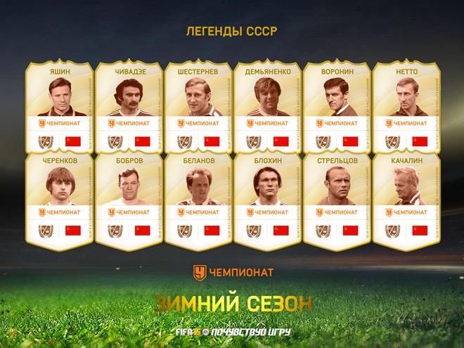 Сборная СССР в FIFA 15