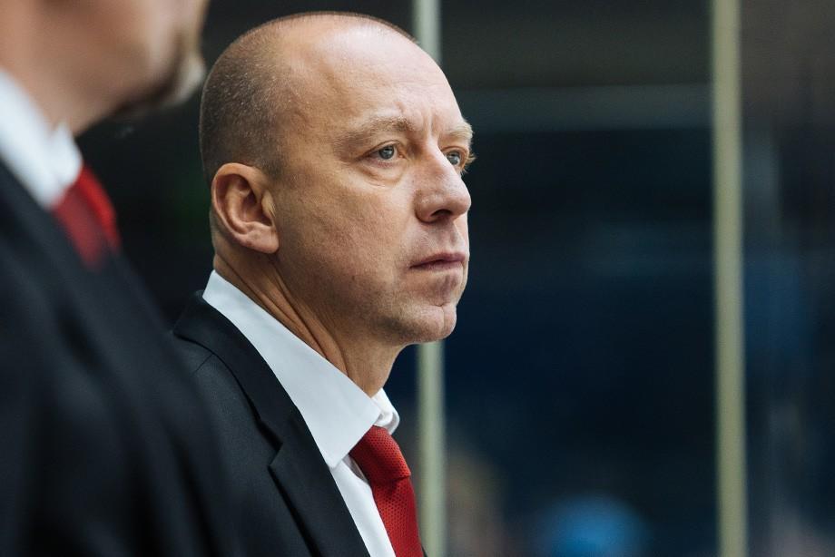 Титов назначен основным тренером хоккейного клуба «Авангард»