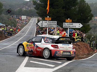 Лёб – лидер Ралли Испании – 2012 после СУ12